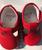 Leather Unisex Mary Jane - Red