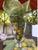 Fruit Yellow/Green Cotton Organza Napkins, Set of 6