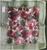 Fruit Red/green Cotton Organza Napkins, Set of 6