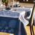 Hortensias Hydrangeas Blue, Organic Cotton