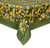 Fruit Yellow Green Tablecloth