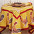 """Rooster Tablecloth, 71"""" x 128"""""""