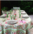 Jardin Red Green Tablecloth
