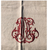 """Tablecloth with Monograms, Square, 64"""" x 64"""""""