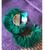 Fan Earring Green
