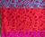 Small Tablecloth, Square Orange and Red