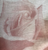 Rose on Linen Tablecloth