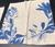 Blue Leaves Linen Napkin