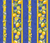"""Detail of Rectangular 120"""" and 78"""" tablecloth"""