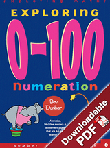 Exploring 0 to 100 Numeration