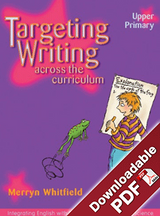 Targeting Writing Across the Curriculum Upper Primary