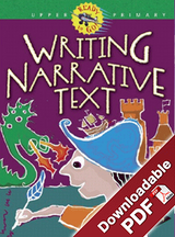 Ready To Go Writing Narrative Text Upper Primary