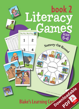 Blake's Learning Centres Literacy Games Book 2