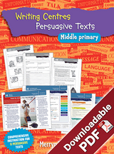 Blake's Learning Centres: Writing Persuasive Texts MP