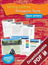 Blake's Learning Centres: Writing Persuasive Texts UP