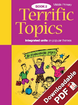 Terrific Topics Middle Primary Book 2