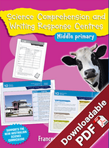 Blake's Learning Centres Science Comprehension & Writing MP