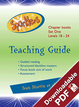 Sparklers - Blue 1 - Teaching Guide