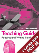 Go Facts - Transport - Teaching Guide