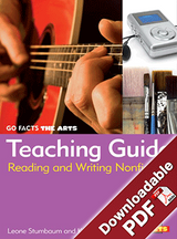 Go Facts - The Arts - Teaching Guide