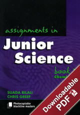 Assignments in Junior Science - Book 3 - Chemistry