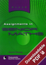 Assignments in Senior Maths - Book 2