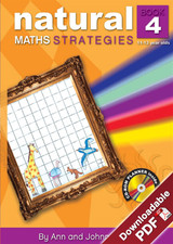 Natural Maths Strategies - Book 4 - Upper Primary - Ages 11-13