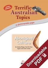 Terrific Australian Topics - Aboriginal Culture - Upper Primary