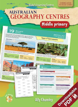 Australian Geography Centres Middle Primary