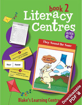 Blake's Learning Centres Literacy Book 2