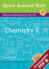 Instant Lessons - Quick Science Tests - Chemistry 1