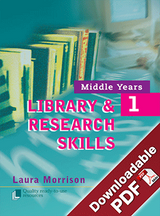 Middle Years Library & Research Skills - Book 1