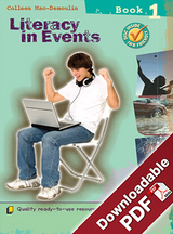 Instant Lessons - Literacy in Events - Book 1