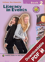 Instant Lessons - Literacy in Events - Book 2