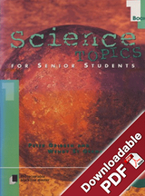 Science Topics for Senior Students - Book 1