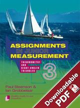 Assignments in Junior Measurement - Book 3