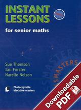 Instant Lessons for Senior Maths - Book 5