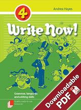 Write Now! - Grammar, Language and Editing Skills - Book 4