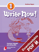 Write Now! - Grammar, Language and Editing Skills - Book 1