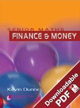 Senior Maths - Money & Finance
