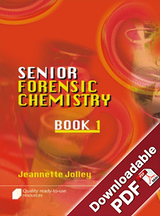 Senior Forensic Chemistry Book 1