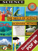 Instant Lessons PowerPoint - The Skills of Science - Scientific Method Book 1