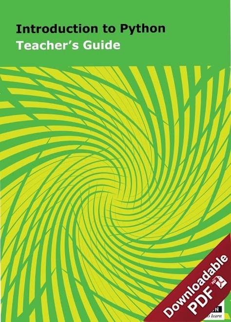 PDF - Introduction to Python