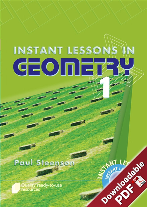 Instant Lessons in Geometry - Book 1