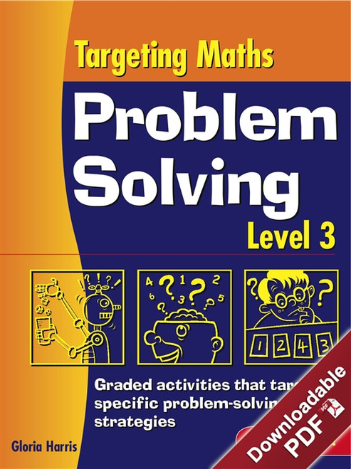 Targeting Maths Problem Solving - Strategy and Work Sheet Book - Level 3