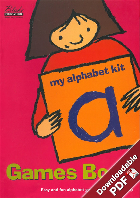 My Alphabet Kit - Games Book - Lower Primary