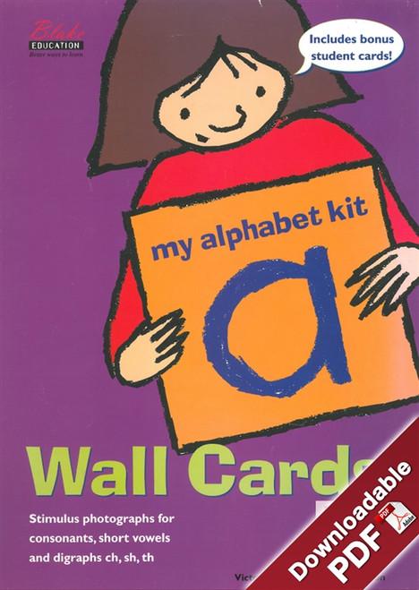 My Alphabet Kit - Wall Cards - VIC