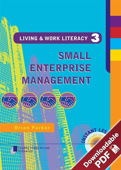 Living & Work Literacy - Book 3 - Small Enterprise Management