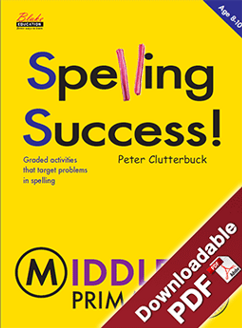 Spelling Success - Middle - Book 2