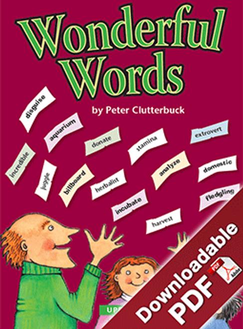 Wonderful Words - Upper Primary
